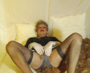 A huge lot of used nylons for