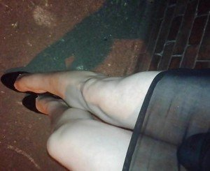 No Nylons Outdoor!