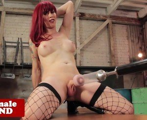 Trans star Nadia Vixen drilled by