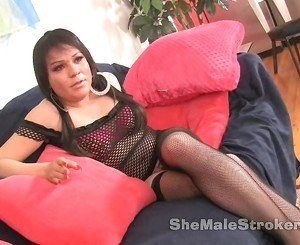 TS Sasha Shemale Strokers in