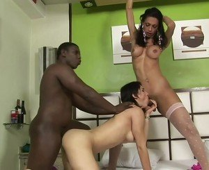 shemale adriana and blackguy in