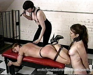 Dominant Shemale Hurts Her Slave