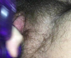 EXTREMELY Hairy FTM Plays With Huge