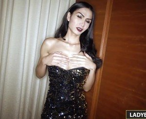 Sexy Ladyboy Bella Blowjob And